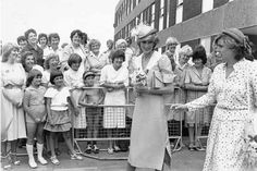 July 26 1983. Princess Diana at the opening of Grimsby's new District General Hospital.