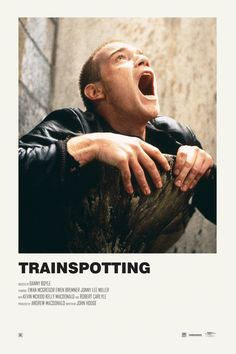 Trainspotting alternative movie poster Prints available HERE