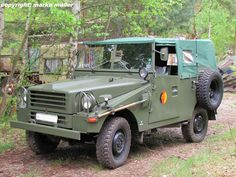 East German Army IFA-P2 (with windshield up and canvas top cover on)