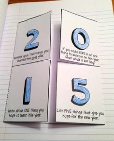 NEW YEAR WRITING & GOALS ACTIVITIES FOR 2015 - FREE - TeachersPayTeachers.com