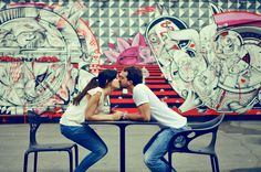 Engagement Session in the Wnywood Arts District in Miami by Elevation 9 Photography