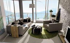 Cómo crear un ambiente Lounge  muy sobrio y conservador