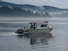 24' Swiftsure XW - Aluminum Cabin Boat by Silver Streak Boats