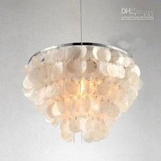 shell tiered pendant light - Google Search