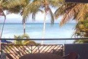 F1 gd confort, Wifi, vue mer exceptionnelle, piscine, acces direct plage avec chaises longues - Location Studio #Guadeloupe #Gosier