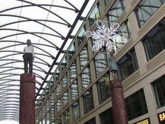 Berlijn heeft een mooie combinatie van kunst en architectuur.