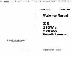 97 Best Hitachi Manuals images in 2019 | Manual, Control