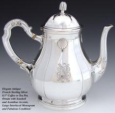 Elegant Antique French Sterling Silver