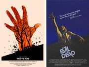 Welcome to the Retro-Futuristic World of Laurent Durieux Horror Posters, Film Posters, Theatre Posters, Laurent Durieux, Evil Dead, Alamo Drafthouse, Retro Futuristic, Poster On, Vintage Movies