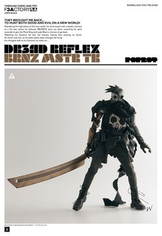 BRNZ MSTR TK available for pre-order now and only at BAMBALAND.com USD $180 Price Includes Worldwide Shipping. 24 hour Limited Time Sale #threeA #AshleyWood #AshleyWoodArt #WorldOf3A #WO3A #Popbot #TomorrowKings #DR3ADREFLEX #F3AFACTORY