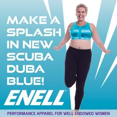 dc5062ad ENELL Scuba Blue!!!! Limited Edition 2014! Support for the blessed and. Best  Sports BrasPlus Size WorkoutFit ...