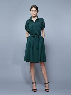 Платье зеленое - BGL, акция действует до 18 марта 2015 года | LeBoutique - Коллекция брендовых вещей от BGL