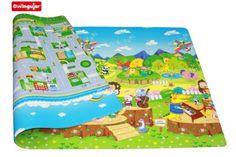 esterilla de juegos para niños – Dwinguler playmat – Animal orchestra – Medium – 1,9m * 1,3m * 15mm
