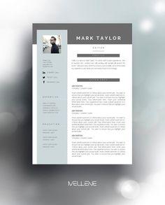 CV / Resume template and cover letter. Professional, creative page design, adjustable layout. Self Branding and presentation. Cv Design, Resume Design, Page Design, Graphic Design, Resume Cv, Branding Design, Layout Design, Print Design, Modern Resume Template