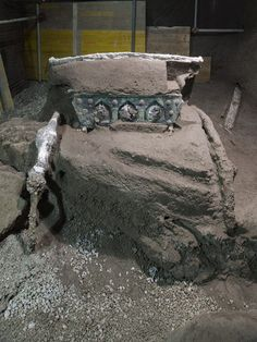 'Miraculously' Well-Preserved Ceremonial Chariot Found at Villa Outside of Pompeii | Smart News | Smithsonian Magazine Roman Chariot, Ancient Pompeii, University Of Massachusetts, Roman City, Fancy Cars, Everyday Activities, Archaeological Site, Ancient Romans, Preserves