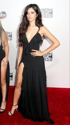 Camila Fifth Harmony on the #AMAs red carpet  Pinterest: @Kayla5H