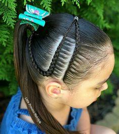 Cute Hairstyles For Kids, Little Girl Hairstyles, Popular Hairstyles, Braided Hairstyles, Kid Braid Styles, Hair Styles, Peinado Updo, Princess Hairstyles, Braids For Kids