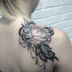 45 Fabulous Lace Tattoo Designs – Taken From Gold , Silk , Cotton Threads