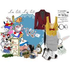 alice in wonderland white rabbit 3