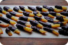 candied chocolate orange peels