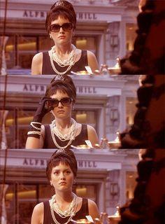 Blair Waldorf's Audrey Hepburn dream #gossipgirl