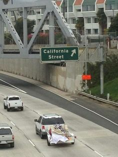 California Street offramp in Ventura, CA. This is the exit you take when you come to visit me in Ventura :-)
