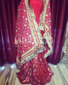 Bridal Gharara with zardozi handcraft embroidery.  #Gharara #ghararastudio #ghararastudiobyshazia #wedding #weddinggharara #bride #bridal #bridalgharara #nikah #reception #walima #kamkhwab #handwork #handcraft #glamour #glamorous #royal #royalty #fashion #fashionable #fashionblog #fashiongram #fashionista #fashionblogger #instafashion #instapic #instalove #picoftheday #sangeet #bridesmaid