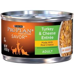 Purina Pro Plan Savor Adult Turkey and Cheese Entree in Gravy - 24 x 3 oz *** Be sure to check out this awesome product. (This is an affiliate link and I receive a commission for the sales)