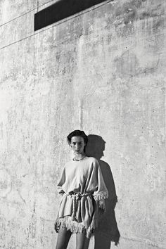 Julia Bergshoeff by Lachlan Bailey for Industrie No.8