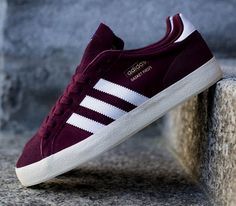 adidas Originals Basket Profi Low – Light Maroon / Running White – Ecru