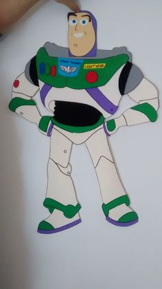 Buzz - 80 cm - Toy Story - Toys for years old happy toys Toy Story Alien, Toy Story Buzz, Toy Story Party, Cumple Toy Story, Festa Toy Story, Sheep Crafts, Baby Crafts, Dibujos Toy Story, Baby Christmas Photos