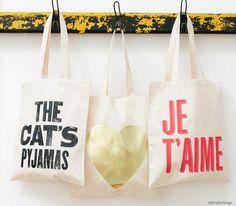 Tote Bag Sac Toile Display Boutique En Ligne Craft Fairs