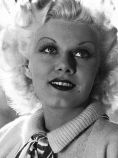 Dedicated to the original blonde bombshell Jean Harlow. Old Hollywood Movies, Old Hollywood Glamour, Hollywood Actor, Golden Age Of Hollywood, Vintage Hollywood, Hollywood Stars, Classic Hollywood, Hollywood Actresses, Baby Jeans