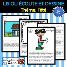 La classe de Caro Core French, French Class, French Teacher, Teaching French, Second Language, French Language, Teacher Helper, Teacher Pay Teachers, Learn French