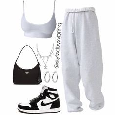 Cute Lazy Outfits, Swag Outfits For Girls, Cute Swag Outfits, Teenage Girl Outfits, Teen Fashion Outfits, Kpop Outfits, Teenager Outfits, Retro Outfits, Simple Outfits