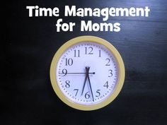 Time Management for Moms: I like her philosophy of as long as you are attempting to improve regularly, and doing your best, when you finish the race be proud of your finish - make it a personal best!  Be happy with it!