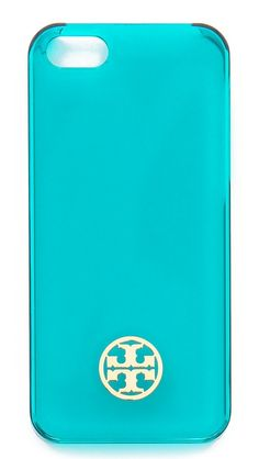 Tory Burch Clear Resin Hardshell iPhone 5 / 5S Case. I want this and can't find it anywhere!