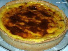 Flan pâtissier rhum - raisins (Recettes au Companion ou pas.)