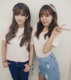 Chorong! With Namjoo | Japan Twitter update