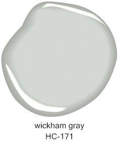 #BenjaminMoore Wickham Gray HC-171