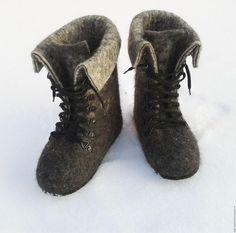 """Фото Мастер-класс """"Валяные ботинки"""" - Ярмарка Мастеров - ручная работа, handmade"""