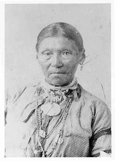 An unidentified woman of the Cree Nation, 1885. No additional information.