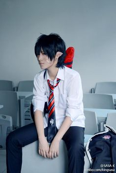Okumura Rin | Ao no Exorcist #cosplay #anime