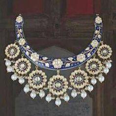 Wedding Jewellery designer, manufacturer, retailer , exporter and valuer. Indian Jewelry Earrings, Indian Wedding Jewelry, India Jewelry, Gems Jewelry, Statement Jewelry, Bridal Jewelry, Jewelery, Indian Accessories, Uncut Diamond
