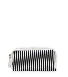 New Look Navy Stripe Make Up Bag #bag #women #covetme