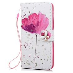 MAVISSDIARY Leather Case for Samsung galaxy Grand Prime G530 Luxury Bling Crystal Diamond Stand Wallet Flip Cover Cases