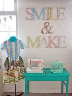 Lucy's Sewing Space