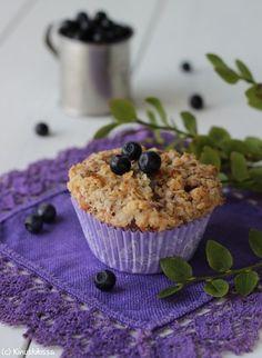 Murun mustikkamuffinssit | Kinuskikissa - Suomen suosituin leivontayhteisö