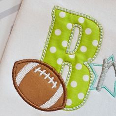 Football3_Alpha_pa Comes in uppercase letters A-Z and numbers 1-9 and in three sizes :  4x4, 5x7, and 6x10