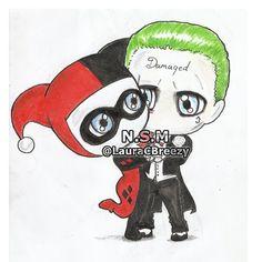 The Joker ❤ Harley Quinn #SuicideSquad